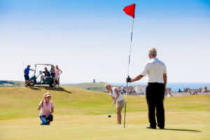 Golf in Bude