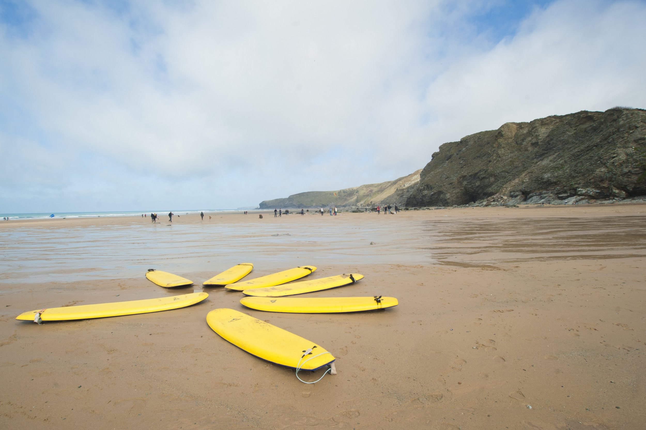 Stay at The Beach at Bude and go surfing