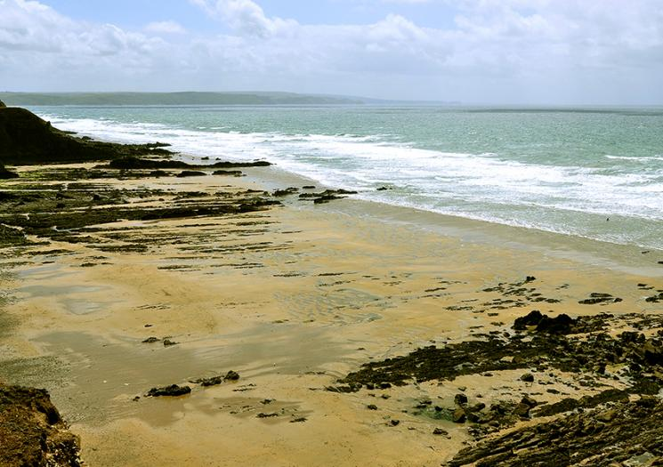 Secret beaches in north Cornwall